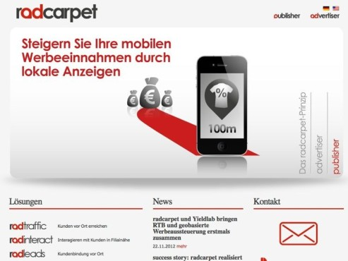 Screenshot Radcarpet © COMPUTER BILD