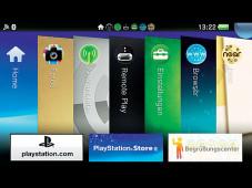 PS Vita: geöffnete Programme ©COMPUTER BILD SPIELE