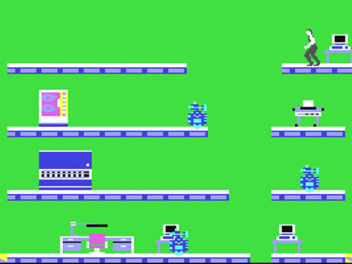 Screenshot Impossible Mission © Epyx