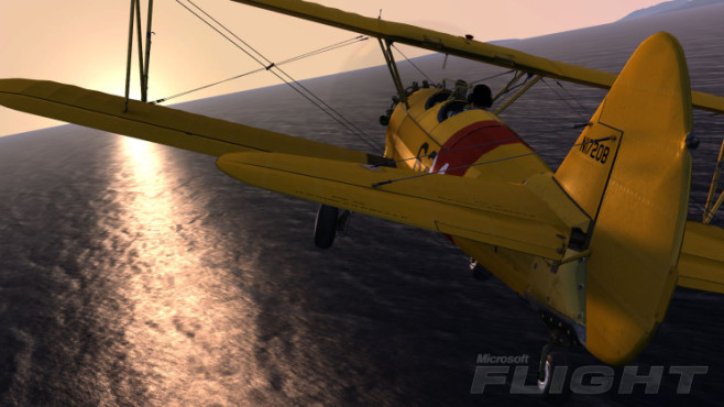 Simulation Microsoft Flight: Boeing Stearman © Microsoft