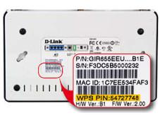 WPS-PIN auf WLAN-Router ©COMPUTER BILD