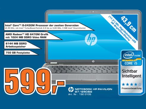 HP Pavilion G7-1250SG ©Saturn