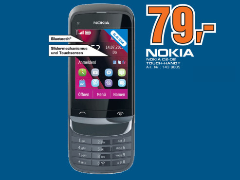 Nokia C2-02 Touch and Type © Saturn