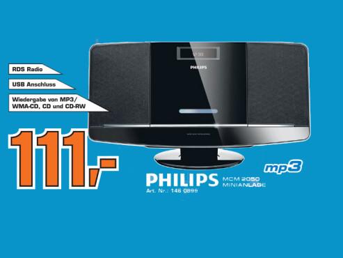 Philips MCM2050 ©Saturn