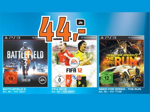 Playstation-3-Spiele ©Saturn