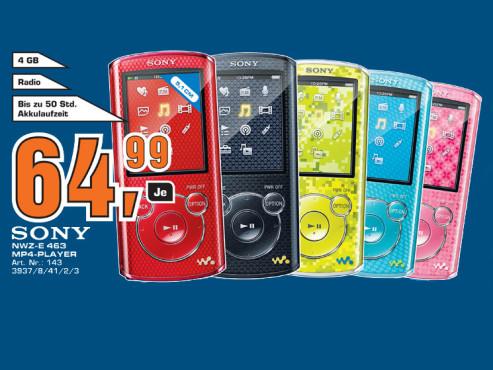Sony NWZ-E463 ©Saturn