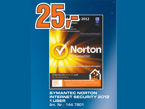 Symantec Norton Internet Security 2012 ©Saturn
