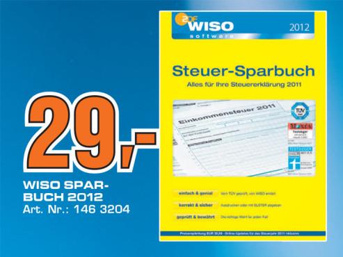 WISO Steuer-Sparbuch 2012 ©Saturn