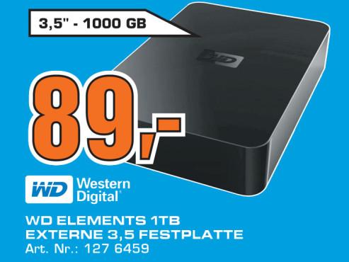 Western Digital Elements Desktop 1TB ©Saturn