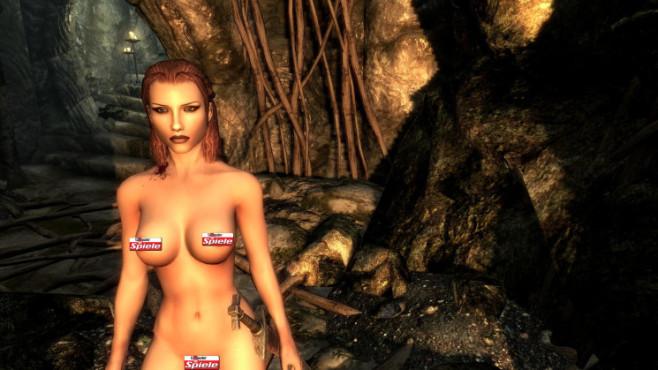 Skyrim Mod: Female Body Mod Big Bottom Edition ©Bethesda Softworks