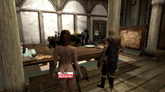 Skyrim Mod: Female Body Mod Big Bottom Edition © Bethesda Softworks