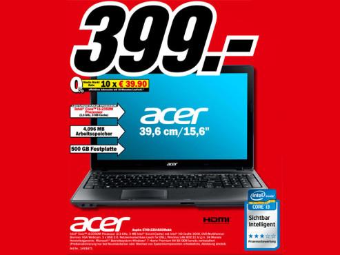 Acer Aspire 5749-2354G50Mnkk ©Media Markt