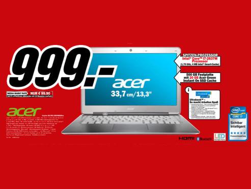 Acer Aspire S3-951-2634G52iss ©Media Markt