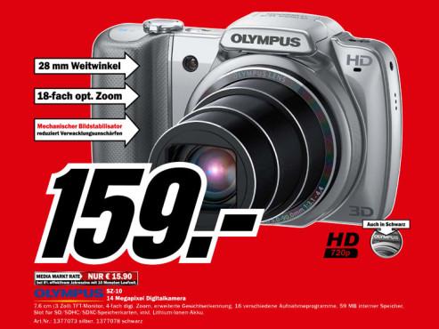 Olympus SZ-10 ©Media Markt