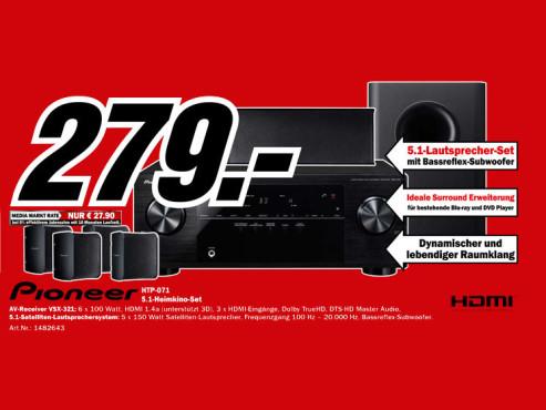 Pioneer HTP-071 ©Media Markt