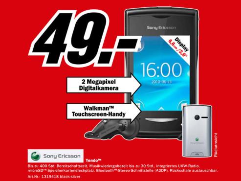 Sony-Ericsson Yendo ©Media Markt