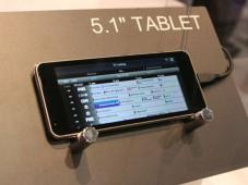 Prototyp: Toshiba 5,1-Zoll Tablet ©intomobile