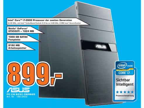 Asus PC CG 8250-DERE25 ©Saturn