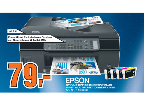 Epson Stylus Office BX305FW Plus © Saturn