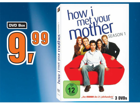 How I Met Your Mother – Season 1 (drei DVDs) © Saturn