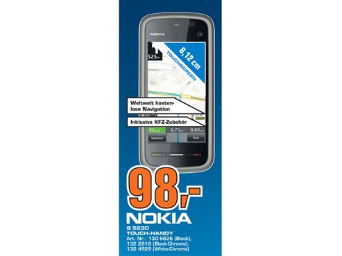 Nokia 5230 Navigation ©Saturn