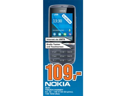 Nokia Asha 300 ©Saturn