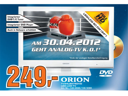 Orion TV-24LB975DVD © Saturn