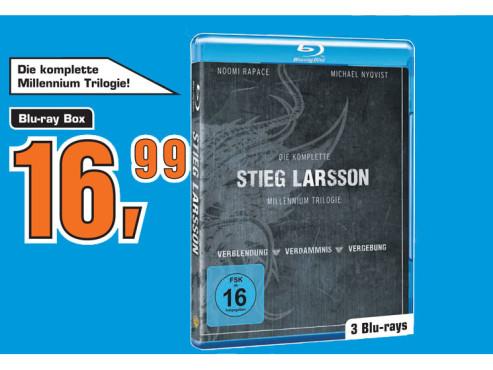 Stieg Larsson – Millennium Trilogie (Blu-ray-Box) ©Saturn