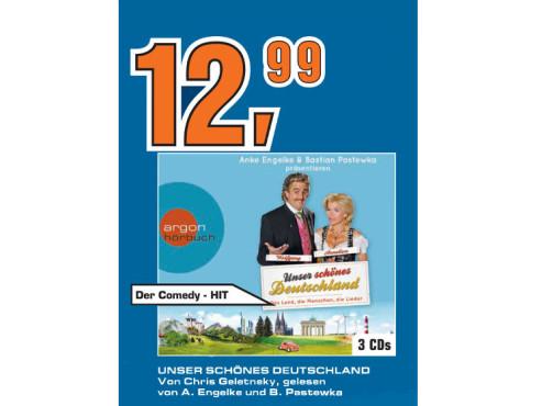 Unser schönes Deutschland (Hörbuch) ©Saturn