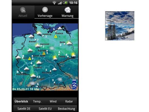 Wetter in Deutschland ©surfcheck.info