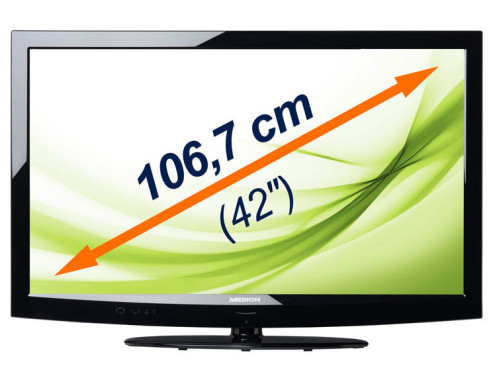 42-Zoll-LED-Backlight-TV Medion Life X17006 © Medion