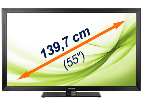 55-Zoll-LED-Backlight-TV Medion Life X18105 © Medion