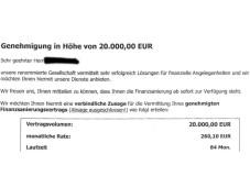 Luzern Finanz GmbH betreibt Abzocke mit Sofort-Krediten