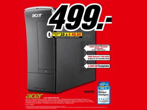Acer Aspire X3990 PT.SGKE2.362 ©Media Markt