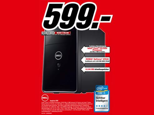 Dell Inspiron 620 ©Media Markt