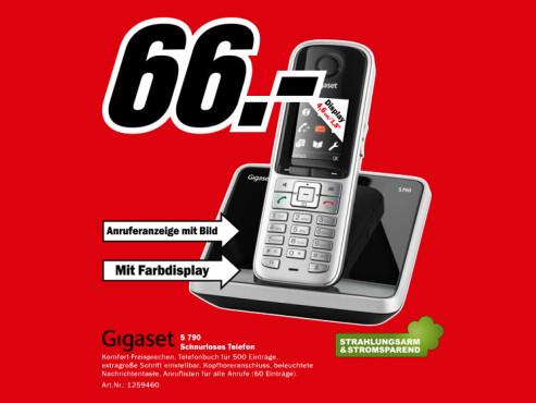 Gigaset S790 ©Media Markt