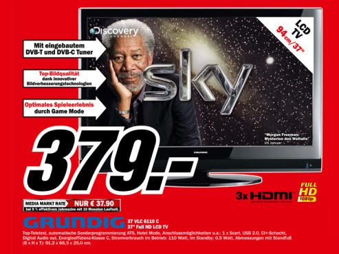 Grundig 37 VLC 6110 C ©Media Markt