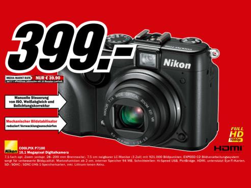 Nikon Coolpix P7100 ©Media Markt