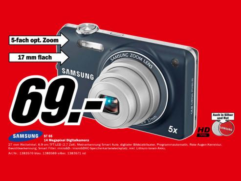 Samsung ST65 ©Media Markt