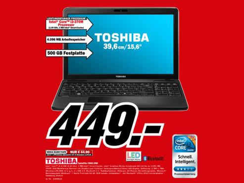 Toshiba Satellite C660-2nH ©Media Markt