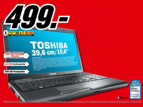 Toshiba Satellite C660-2nJ ©Media Markt