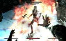 Rollenspiel Skyrim: Kampf gegen Untote ©Bethesda