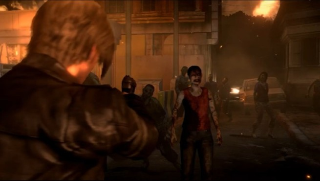 Actionspiel Resident Evil 6: Zombies © Capcom