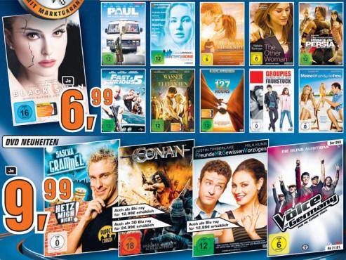 DVDs, DVD-Neuheiten ©Saturn