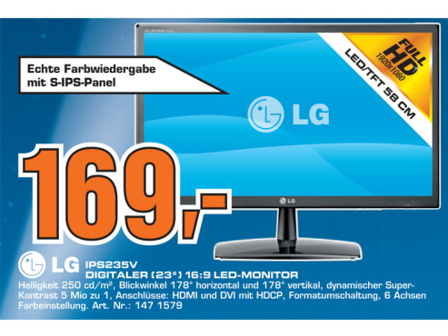 LG IPS235V ©Saturn