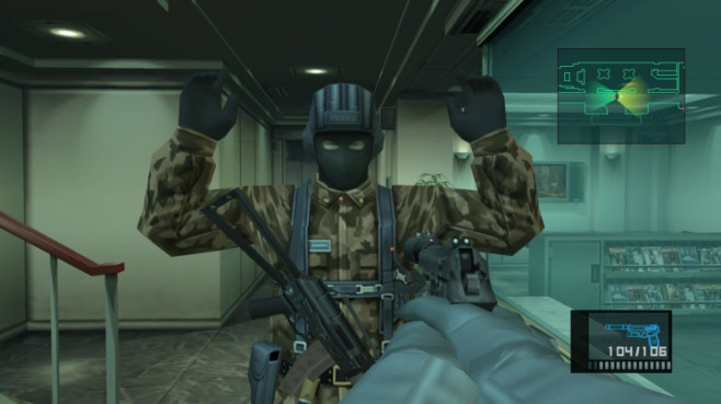 Actionspiel Metal Gear Solid 2 – Sons of Liberty: Hände hoch © Konami