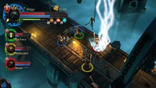 Online-Rollenspiel Dungeon Hunter Alliance: Brücke © Ubisoft