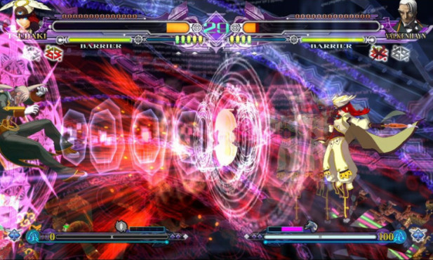 Pr�gelspiel Blazblue Continuum Shift Extend: Effekte © NBG EDV