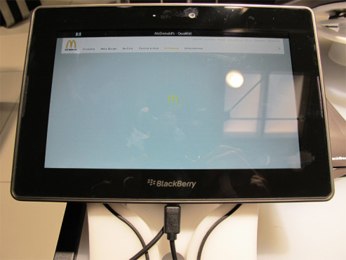 BlackBerry PlayBook © COMPUTER BILD