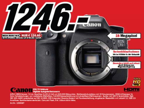 Canon EOS 7D Body ©Media Markt
